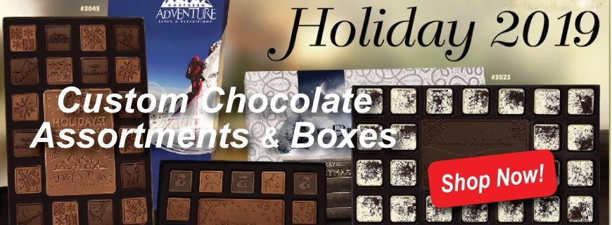 Holiday Custom Chocolate Gifts