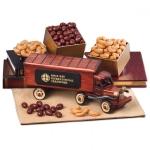 Custom Holiday Food Classic Wooden Trucks