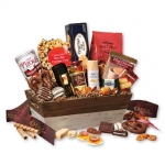 Custom Logo Holiday Gift Baskets