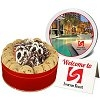 Custom Cookie Assortments with Full Color Logo on Lid
