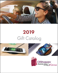 Company Holiday Hand Stands Tech Catalog