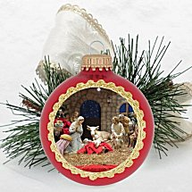 Corporate Logo Christmas Ornaments
