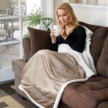 Luxury Blankets and Throws with your logo