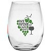 Imprinted Promotional Wine Glasses