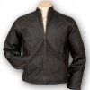 Custom Leather Jackets for men and women with your logo or custom design embroidered or debossed