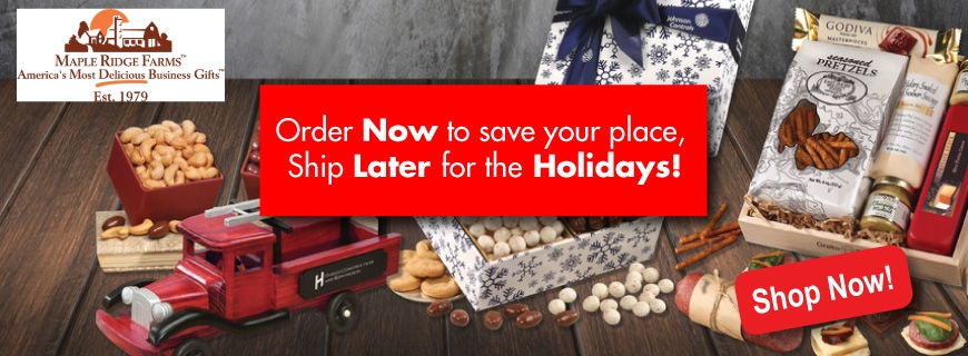 Maple Ridge Farms Holiday Food Gifts