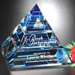 Custom Optical Crystal Recognition Awards