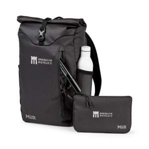 Miir gives back a percentage of revenue to giving projects. This computer backpack qualifies