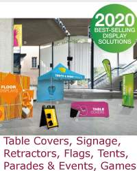 Company Tradeshow Booths and Accessories