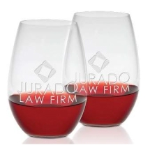 Logo Riedel O Series Shiraz Stemless Wine Glass Set