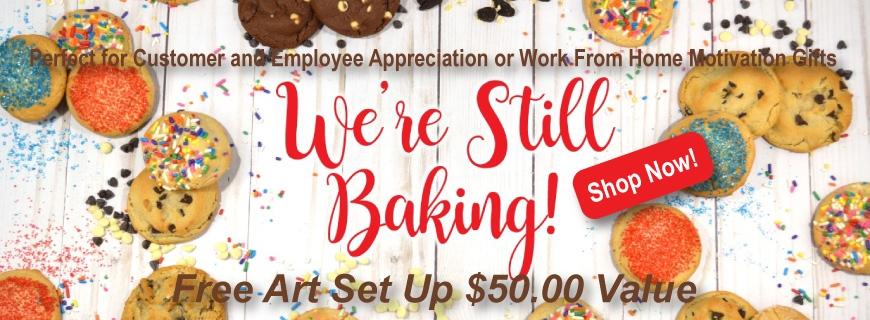 Were Still Baking