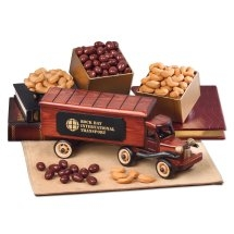 Logo Wooden Truck with Food